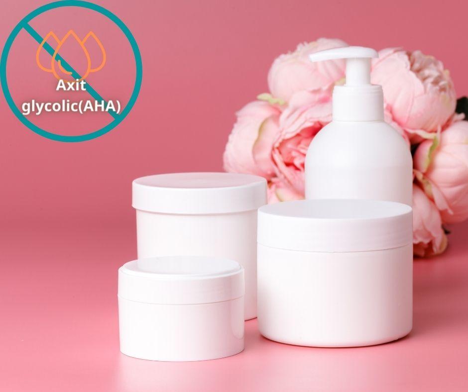 Axit glycolic, thành phần khiến da khô mất lớp màng bảo vệ tự nhiên