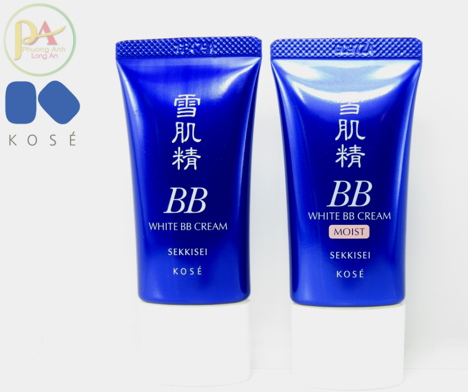 Kem Nền Che Khuyết Điểm Dưỡng Trắng BB White Cream Sekkisei Kose