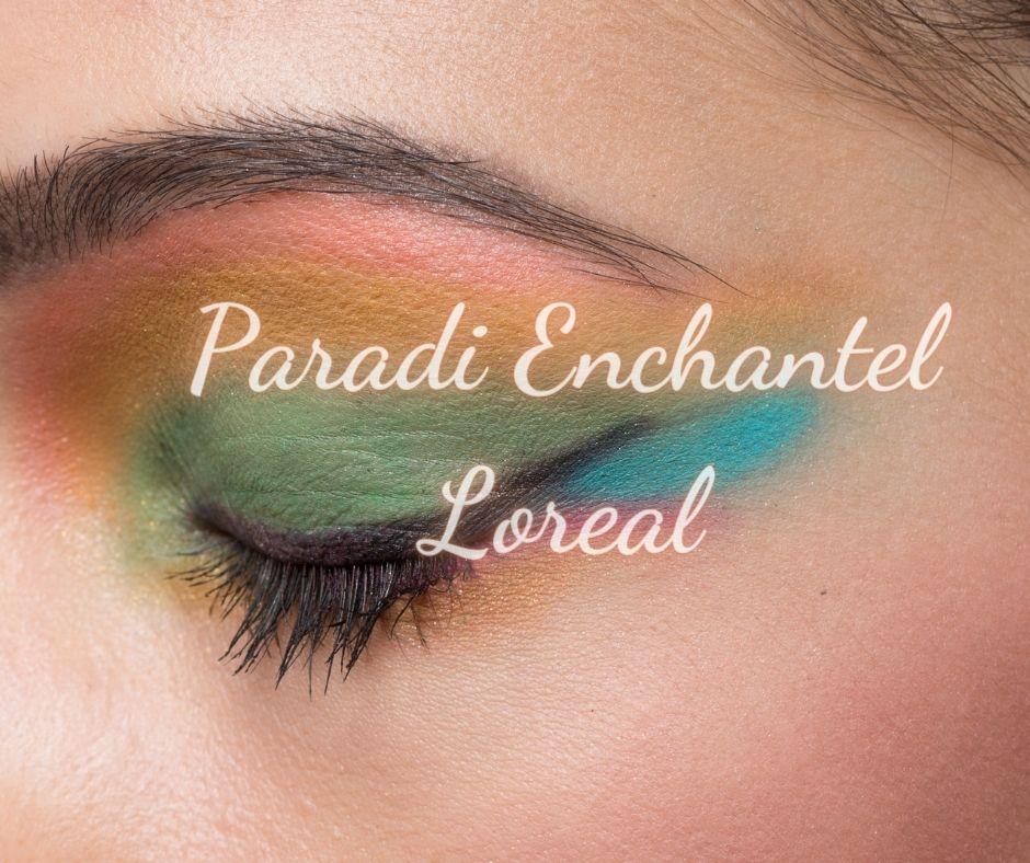 Bảng Phấn Mắt Hương Trái Cây Paradi Enchantel Loreal 12 Màu