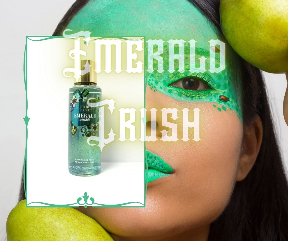 Body Mist Victorias Secret Emerald Crush