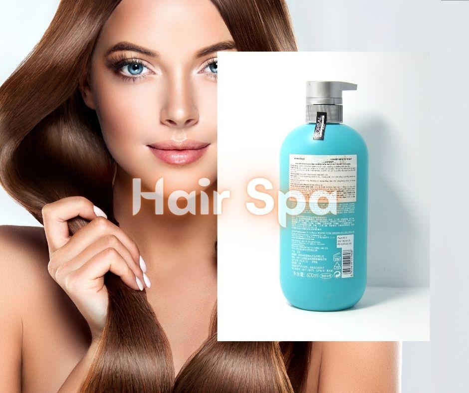 Dầu Gội Loreal Hair Spa Deep Nourishing Shampoo được chiết xuất Hoa súng và nước tinh khiết