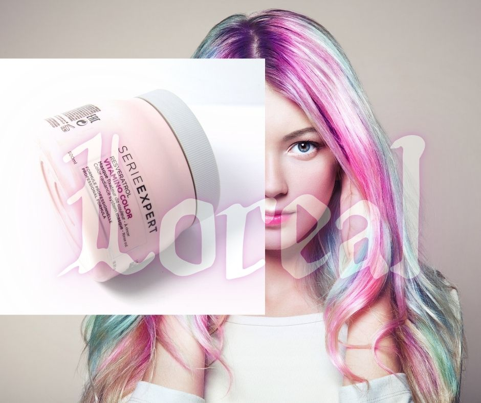 Hấp Dầu Giữ Màu Tóc Nhuộm Loreal giúp mái tóc mượt mà