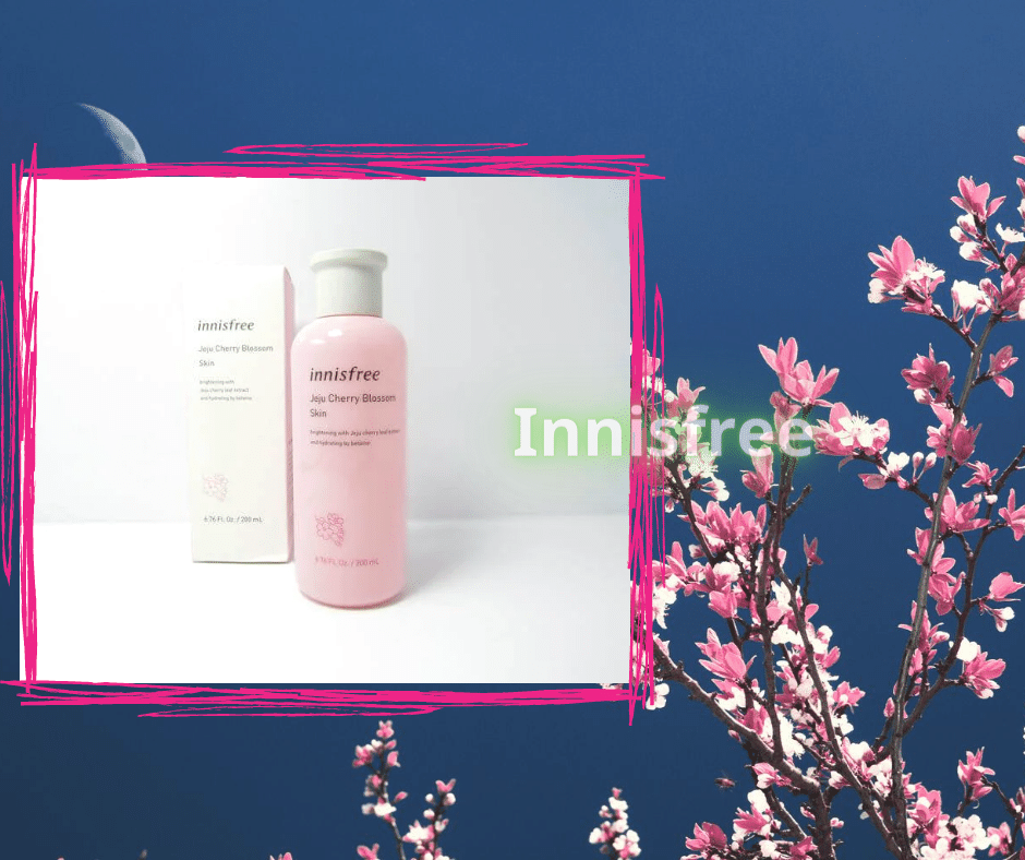 Jeju Cherry Blossom Skin Nước Hoa Hồng Trắng Da