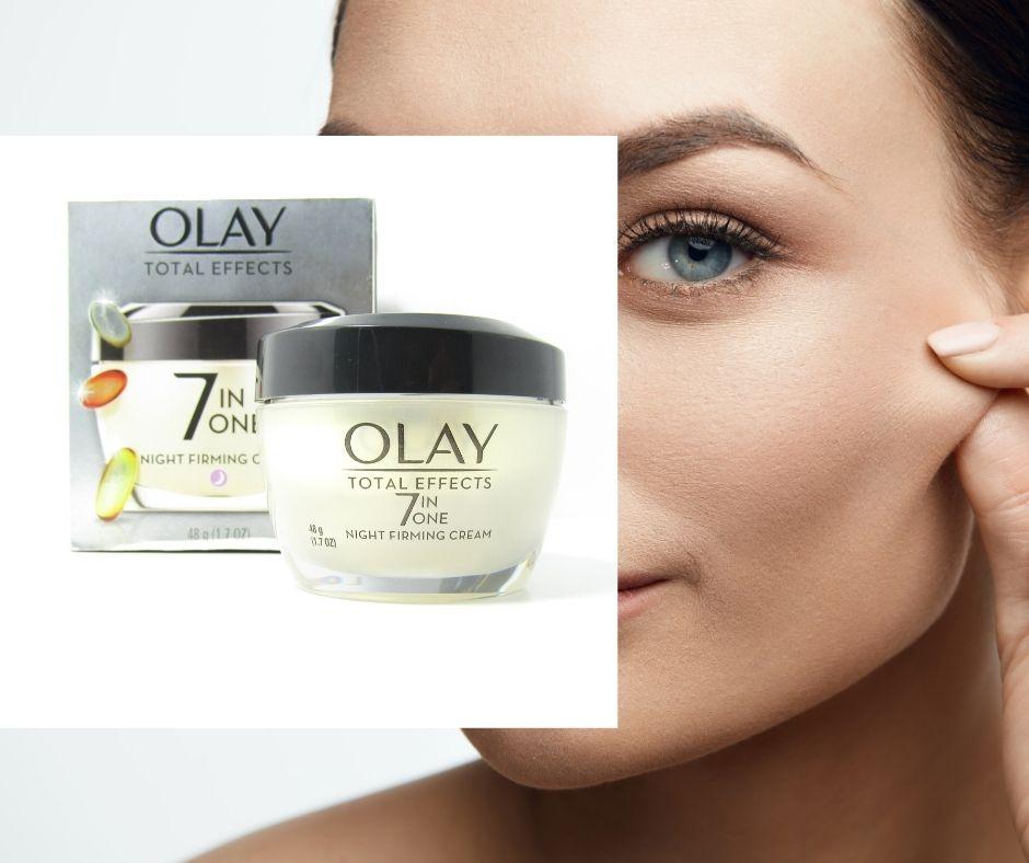 Kem Dưỡng Ẩm Olay Total Effects Night Firming Cream