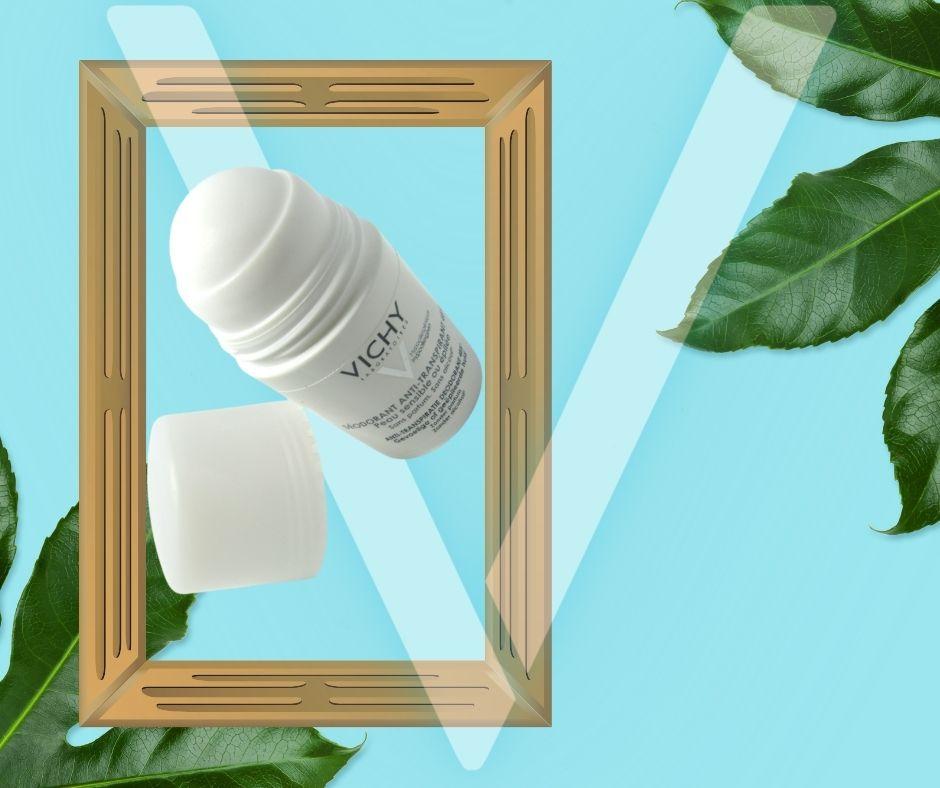 Lăn Khử Mùi Cho Da Nhạy Cảm Vichy Deodorant Anti Transpirant