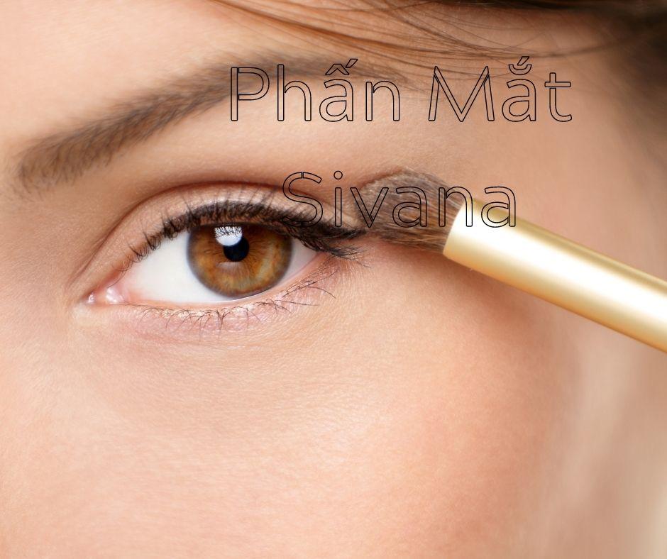 Phấn mắt 10 Ô Sivana Color The Elegant Eye Shadow