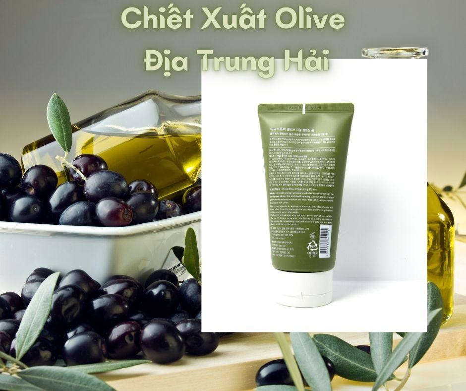 Sữa Rửa Mặt Innisfree Olive