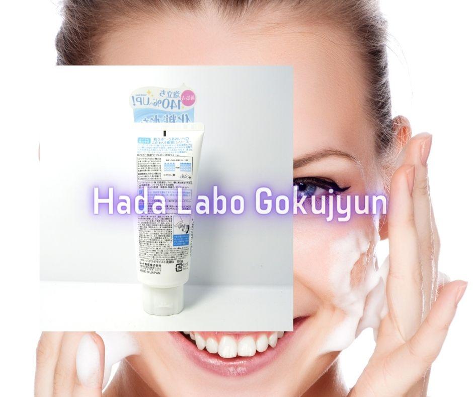 Hada Labo Gokujyun Face Wash Nội Địa Nhật