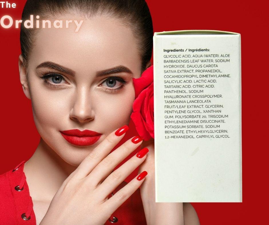 Thành phần của sản phẩm tẩy da chết hóa học The Ordinary AHA 30% + BHA 2% Peeling Solution là gì