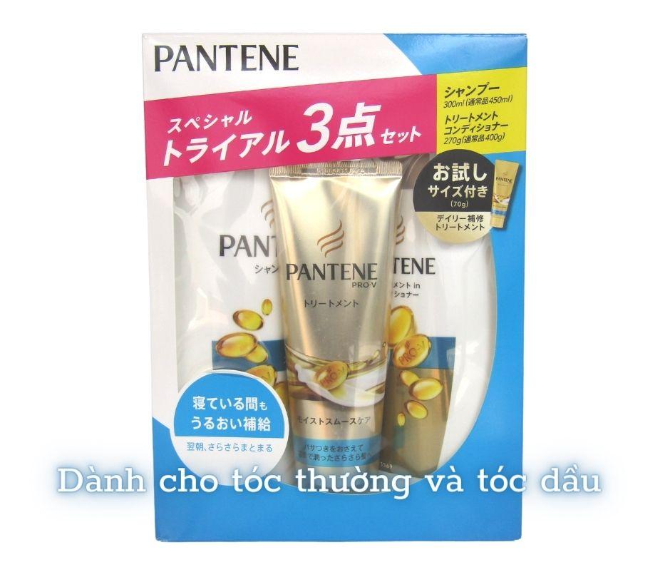 bộ dầu gội pantene dành cho tóc thường và tóc dầu