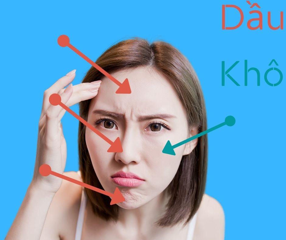 Cách nhận biết và chăm sóc da hỗn hợp