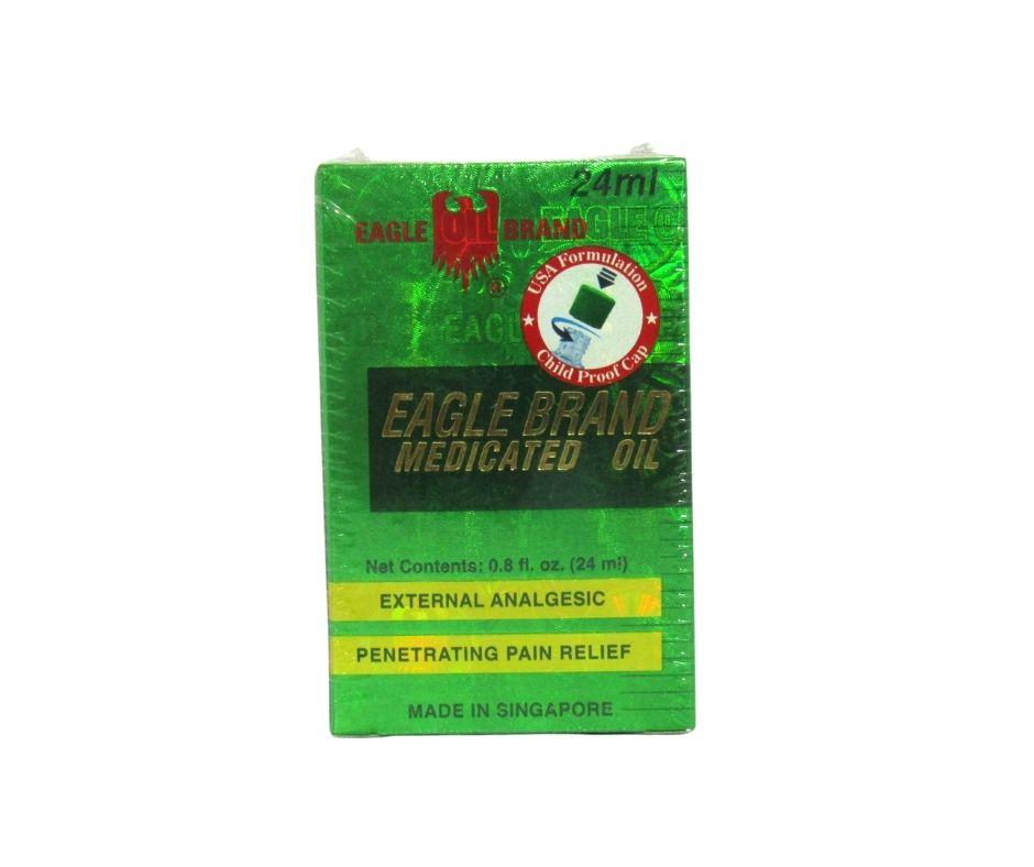 Công dụng của dầu gió xanh con Ó Eagle Brand Medicated Oil