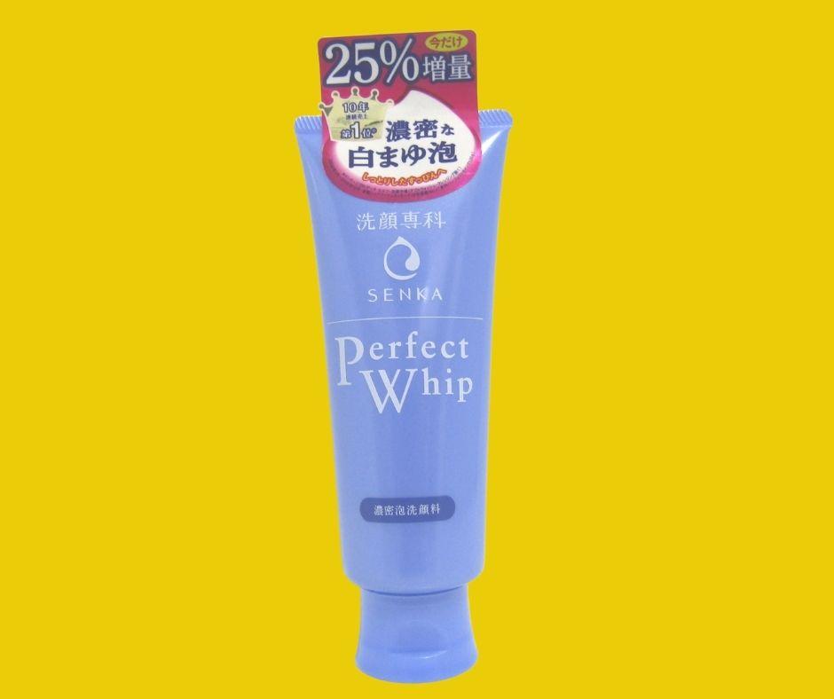 Độ pH của sữa rửa mặt Senka Perfect Whip