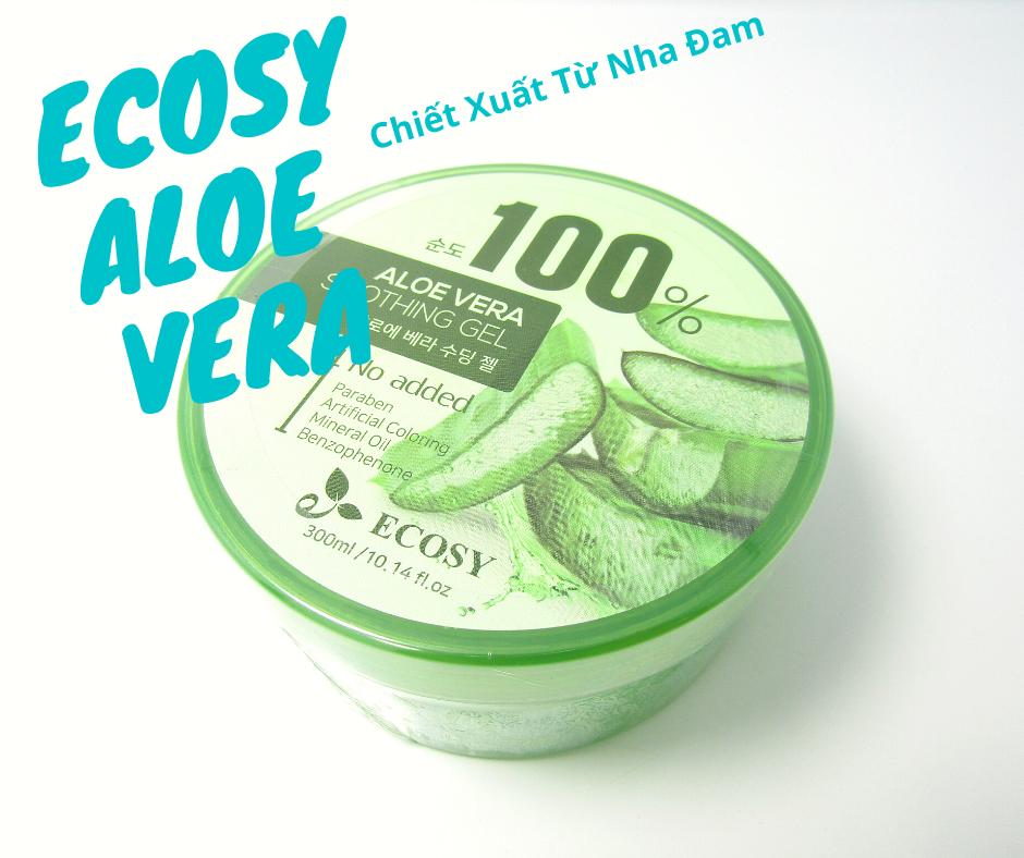 Gel Đa Năng Aloe Vera Soothing Gel 100% Ecosy