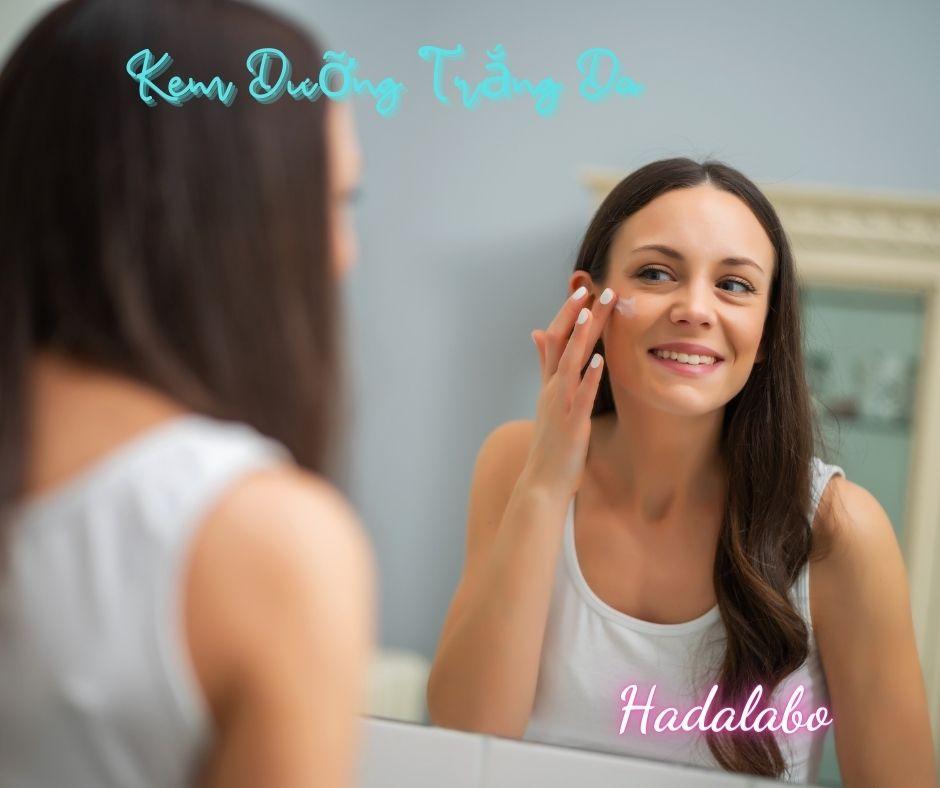 Kem Dưỡng Trắng Da Hadalabo Uv White Gel bảo vệ làn da bạn mọi thời điểm