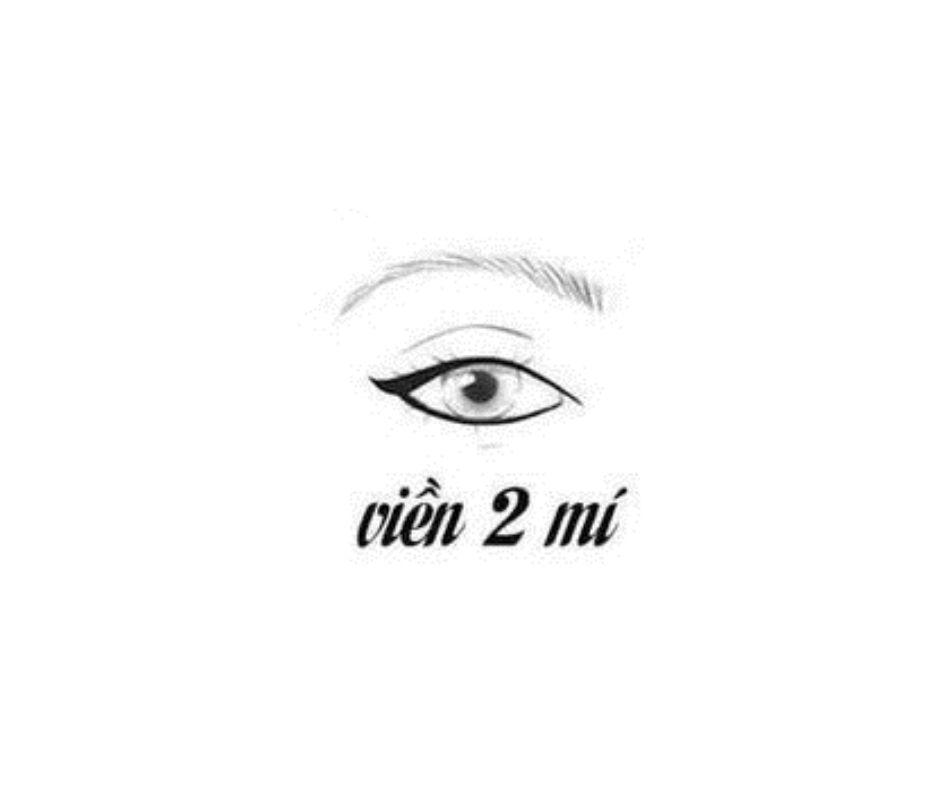 Kiểu kẻ mắt viền 2 mí
