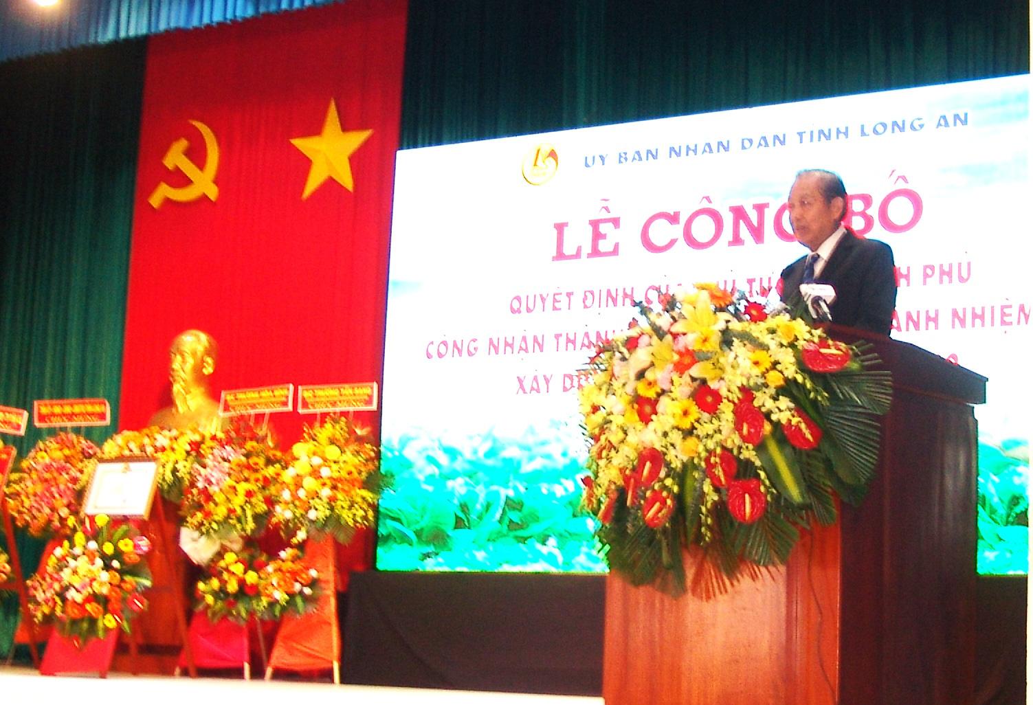 Long An Giã từ cây lúa nông dân thành phố Tân An trồng cây gì để nông thôn cửa ngõ miền Tây bừng sáng