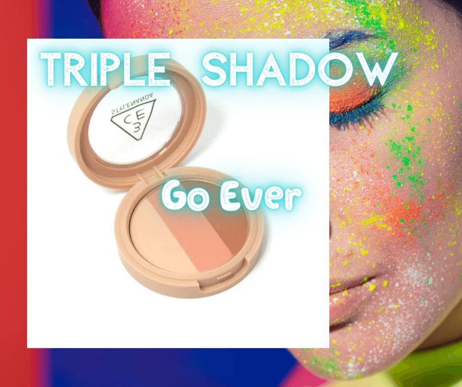 Bảng Màu Mắt 3CE Triple Shadow Go Ever