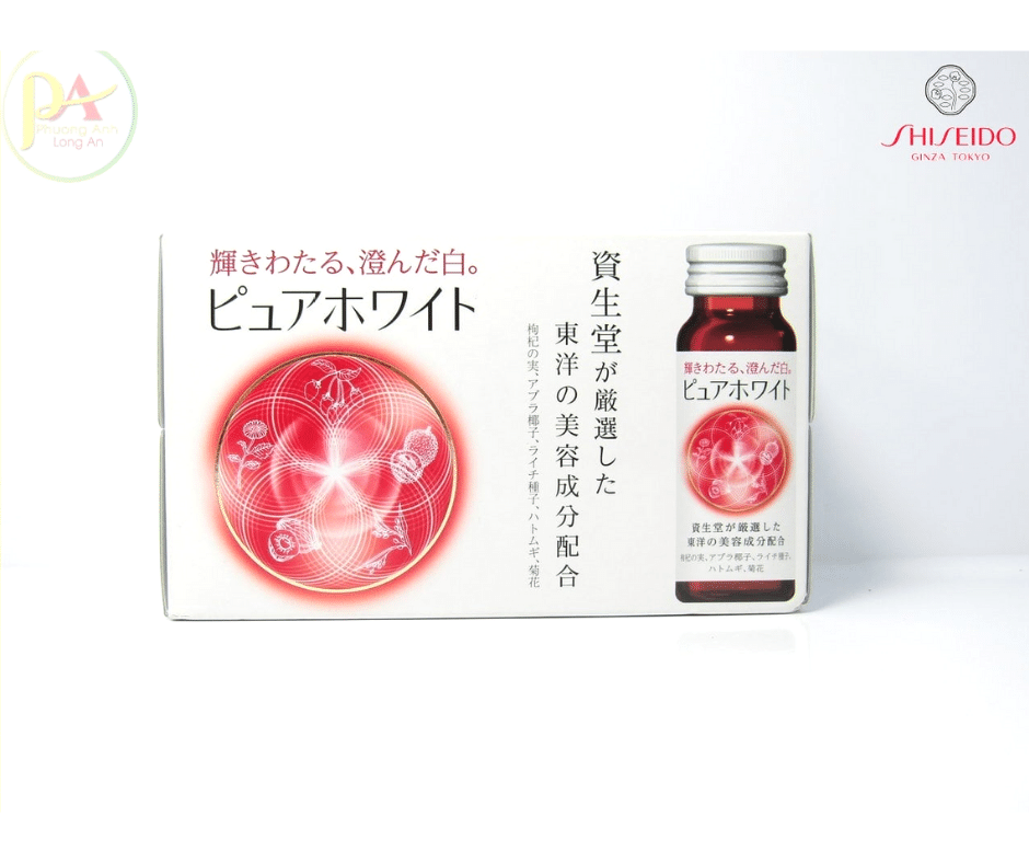 Uống trắng da Sheseido Nhật Bản Xách Tay Chính Hãng