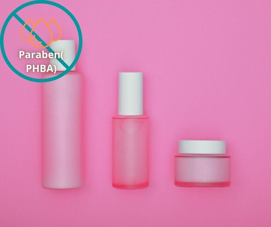 Paraben, thành phần khiến da khô gặp phải kích ứng