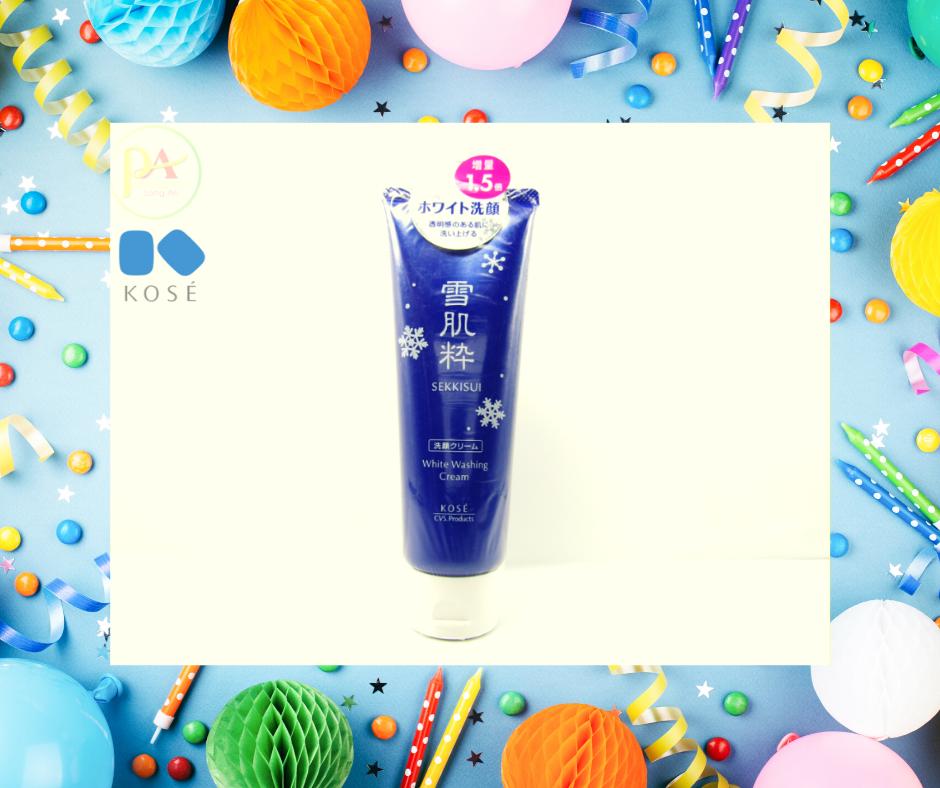 Kose Sekkisei White Washing Cream hàng nhật xách tay