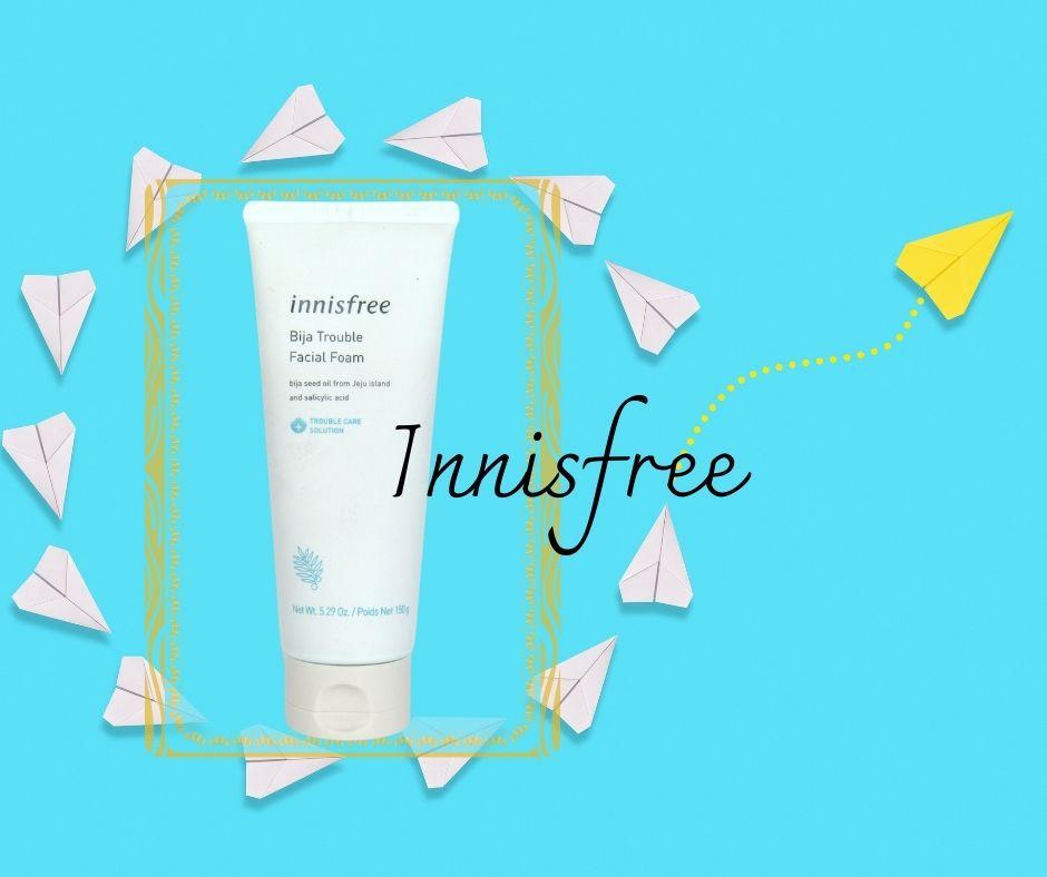 Innisfree Bija Trouble Facial Foam