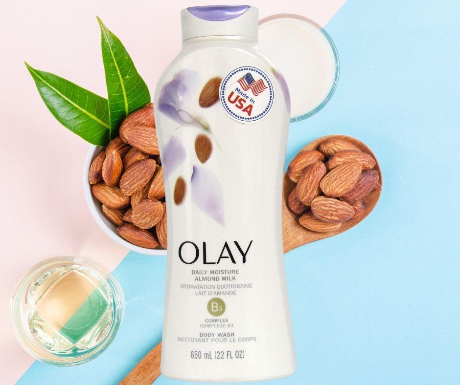 Sữa tắm Olay Daily Moisture Almond Milk