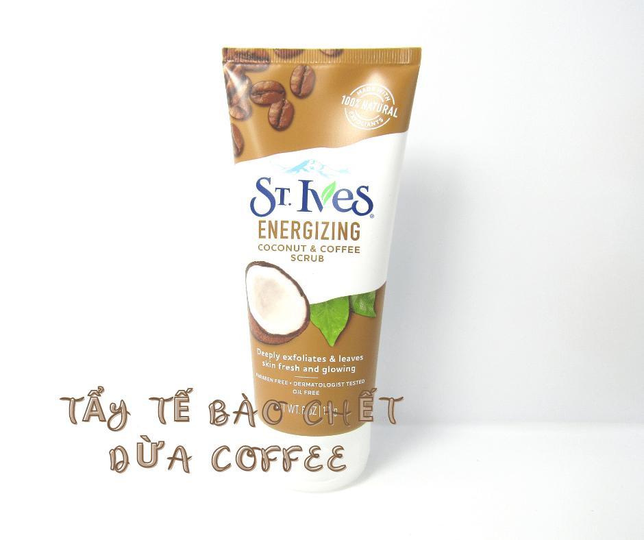 Tẩy Tế Bào Chết St Ives Dừa Caffee