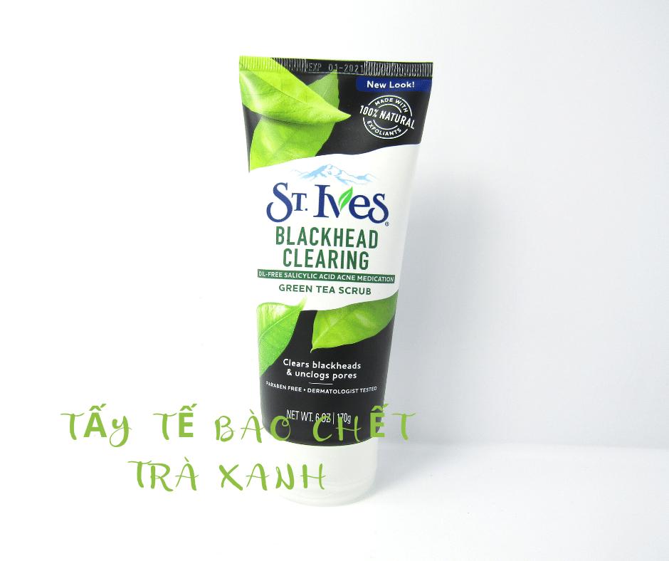 Tẩy Tế Bào Chết St Ives chiết xuất trà xanh