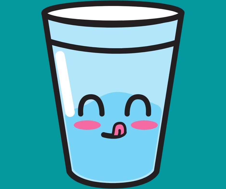 7.Thói quen tốt uống đủ nước
