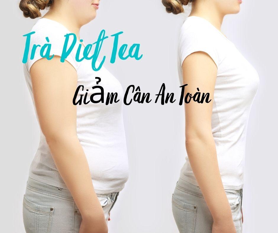 Trà Diet Tea giảm cân 7kg 30 gói của Nhật