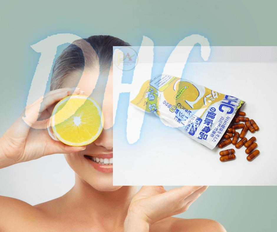 Viên Uống Vitamin C DHC Nhật Bản Giúp Da Săn Chắc Mờ Thâm