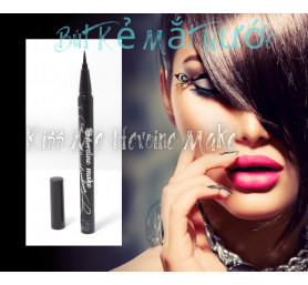 Bút Kẻ Mắt Nước Kiss Me Heroine Make Smooth Liquid Eyeliner 4ML