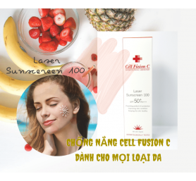 Chống Nắng Cell Fusion C Laser Sunscreen 100 SPF50+/PA+++ 50ml