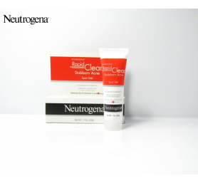Gel Chấm Mụn Neutrogena Rapid Clear Stubborn Acne Spot Gel 28g