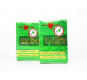 Dầu Gió Xanh Con Ó Eagle Brand Medicated Oil 24ml