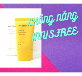 Kem Chống Nắng Innisfree Intensive Long Lasting Sunscreen 50ml