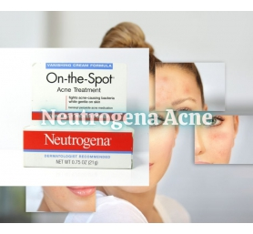 Kem Trị Mụn Neutrogena On The Spot Acne Treatment 21g
