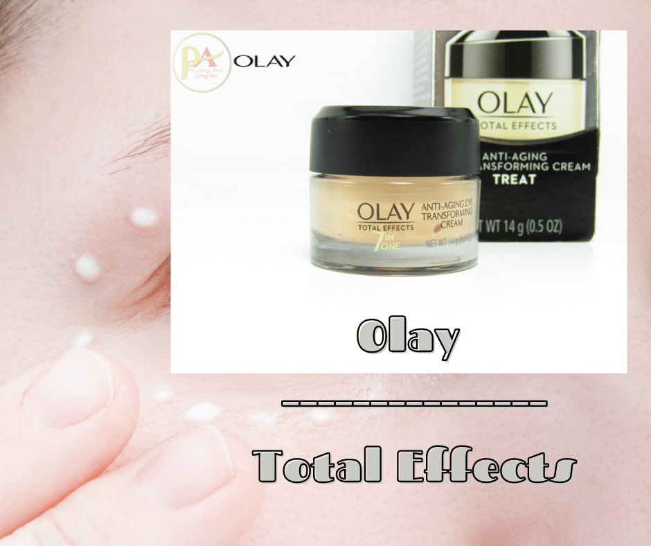 Kem Trị Thâm Quầng Mắt Olay Total Effects Anti Aging Eye Transforming Cream