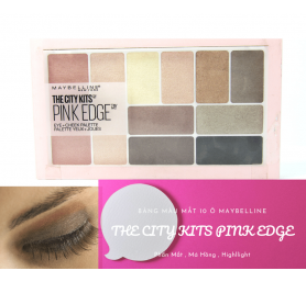 Bảng Màu Mắt The City Kits Pink Edge 10 Ô
