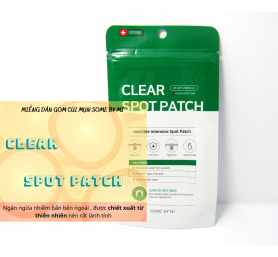 Miếng Dán Mụn Some By Mi Clear Spot Patch 18 Miếng