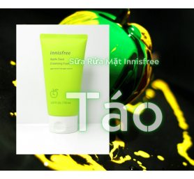 Sữa Rửa Mặt Táo Innisfree Apple Seed Cleasing Foam 150ml